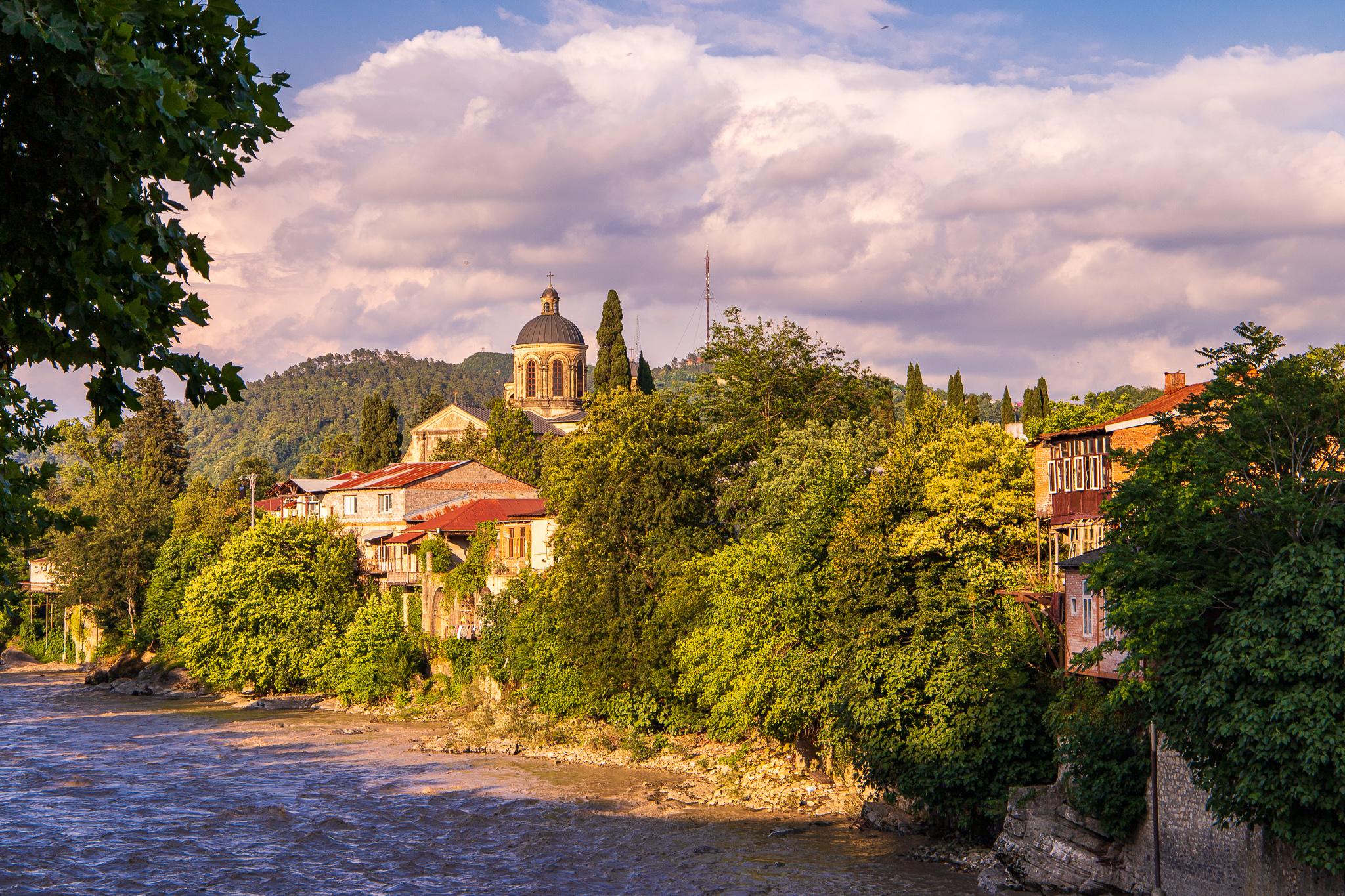 The Rioni River