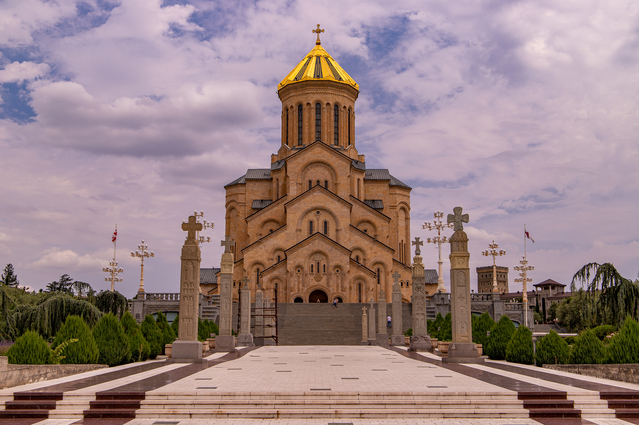 The Holy Trinity Cathedral in its grandeur