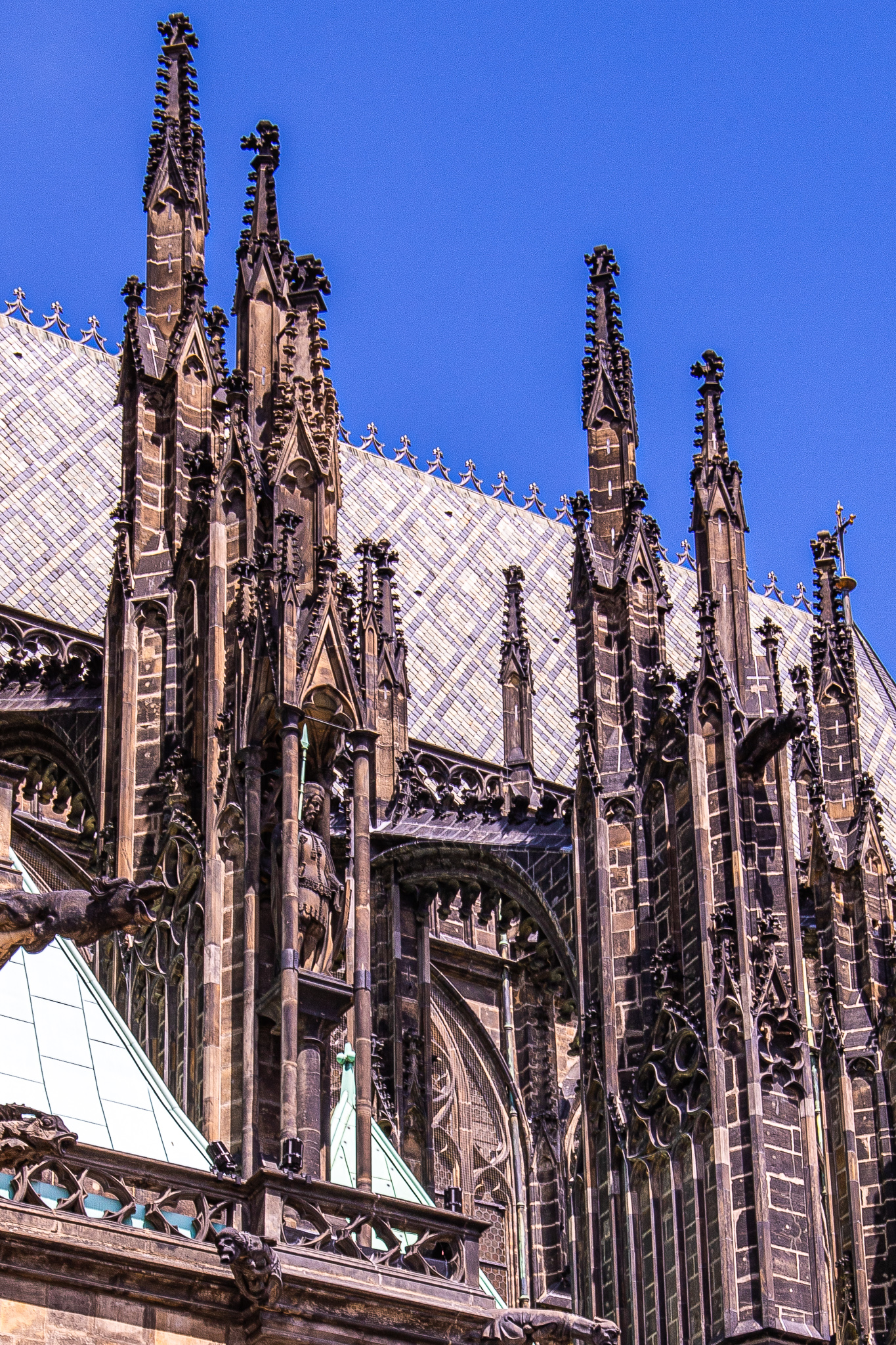 Spires of St Vitus Cathedral