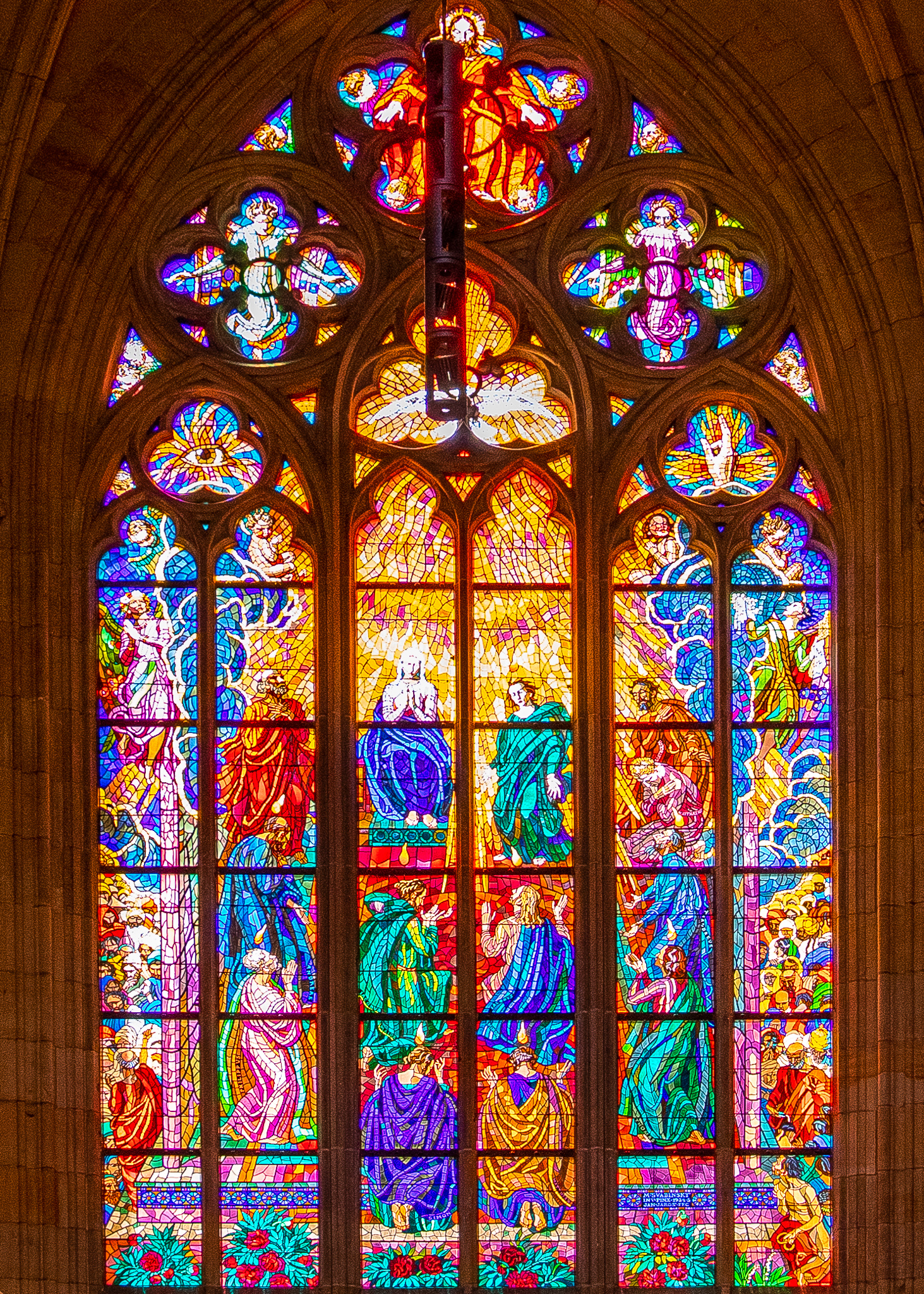 Magnificent stained windows