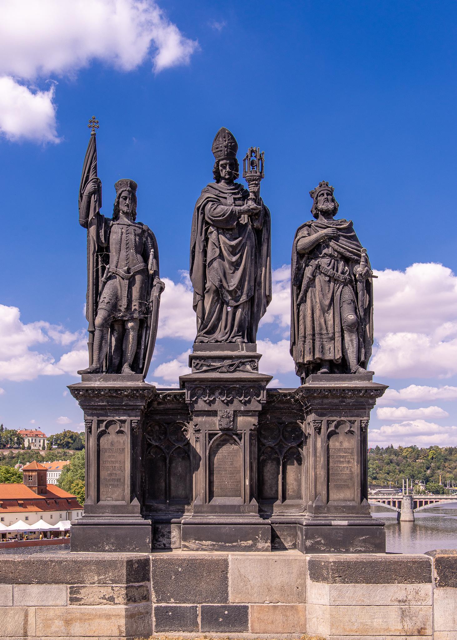 Statues Of Sts. Norbert, Wenceslas and Sigismond