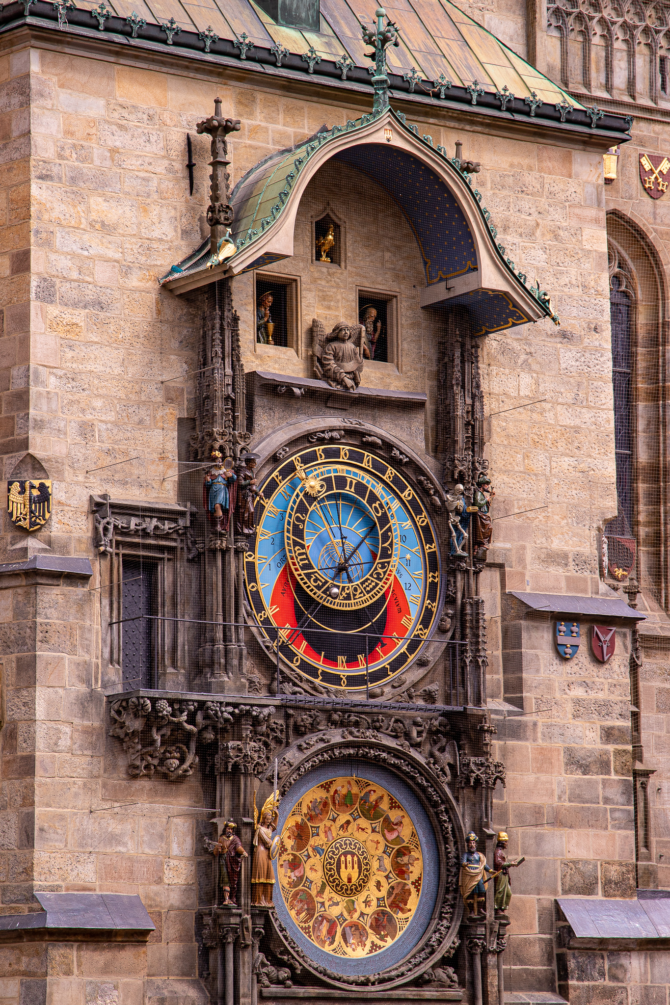 Astronomical Clock and Signs of the Zodiac