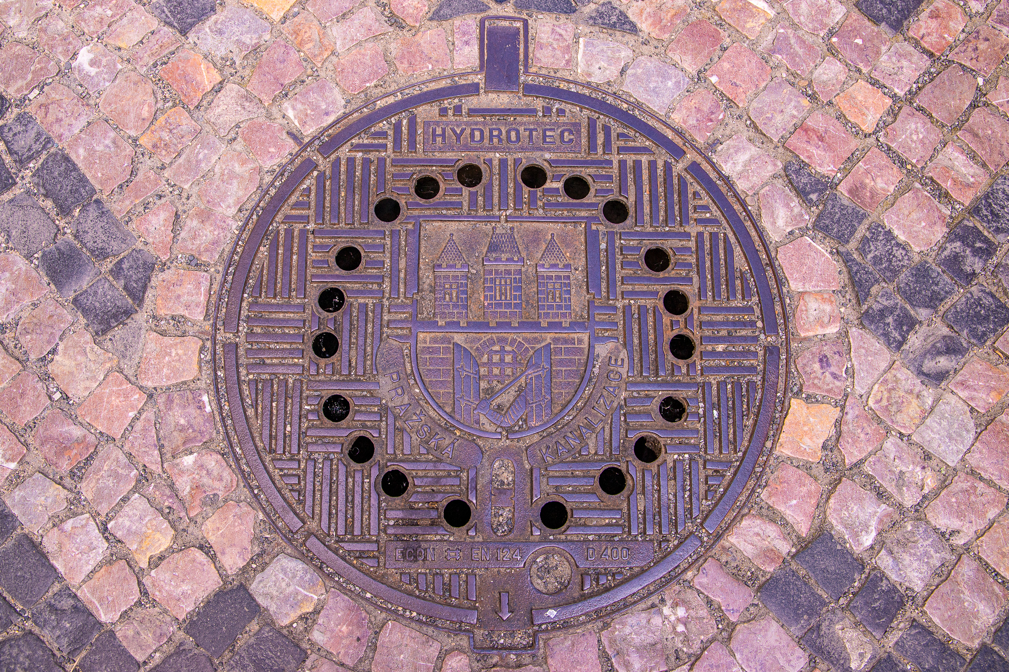 A city that makes badass manholes like this is one that's on top of its game