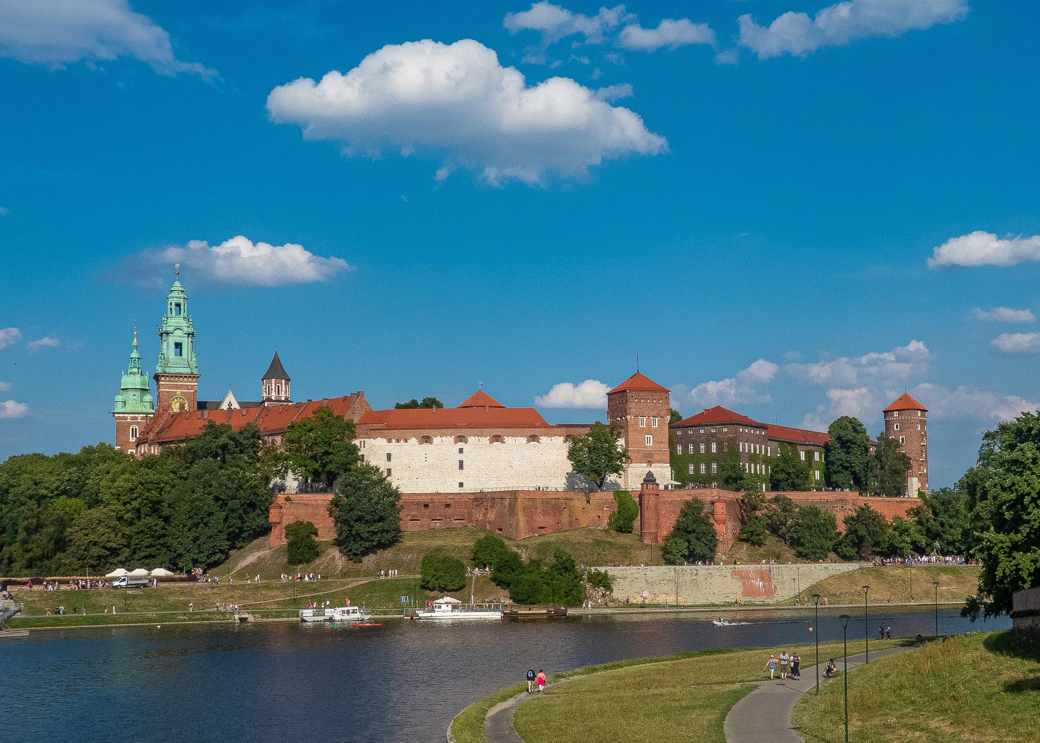 The impressive Wawel Castle