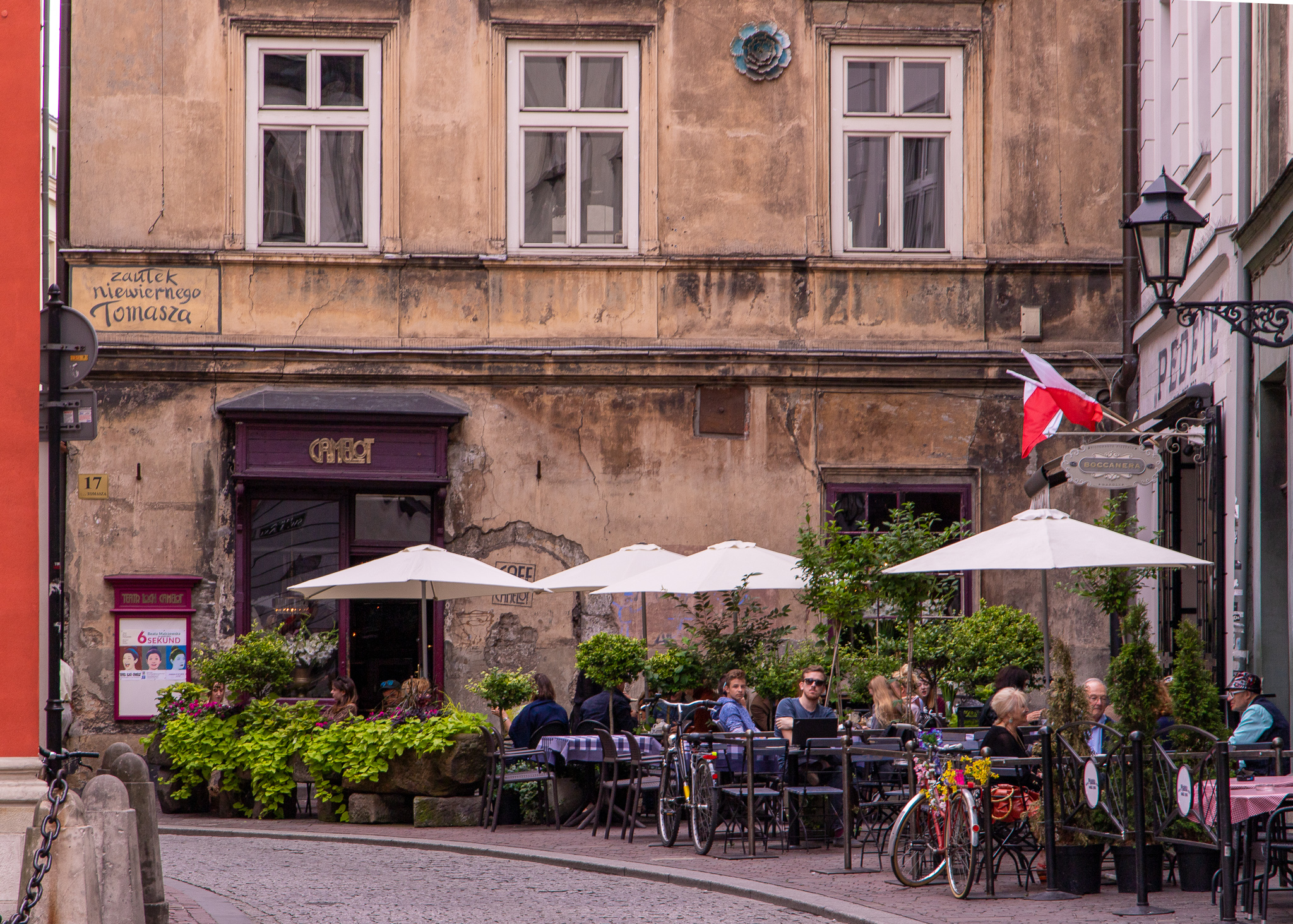 The cafe vibe is alive and well in Krakow