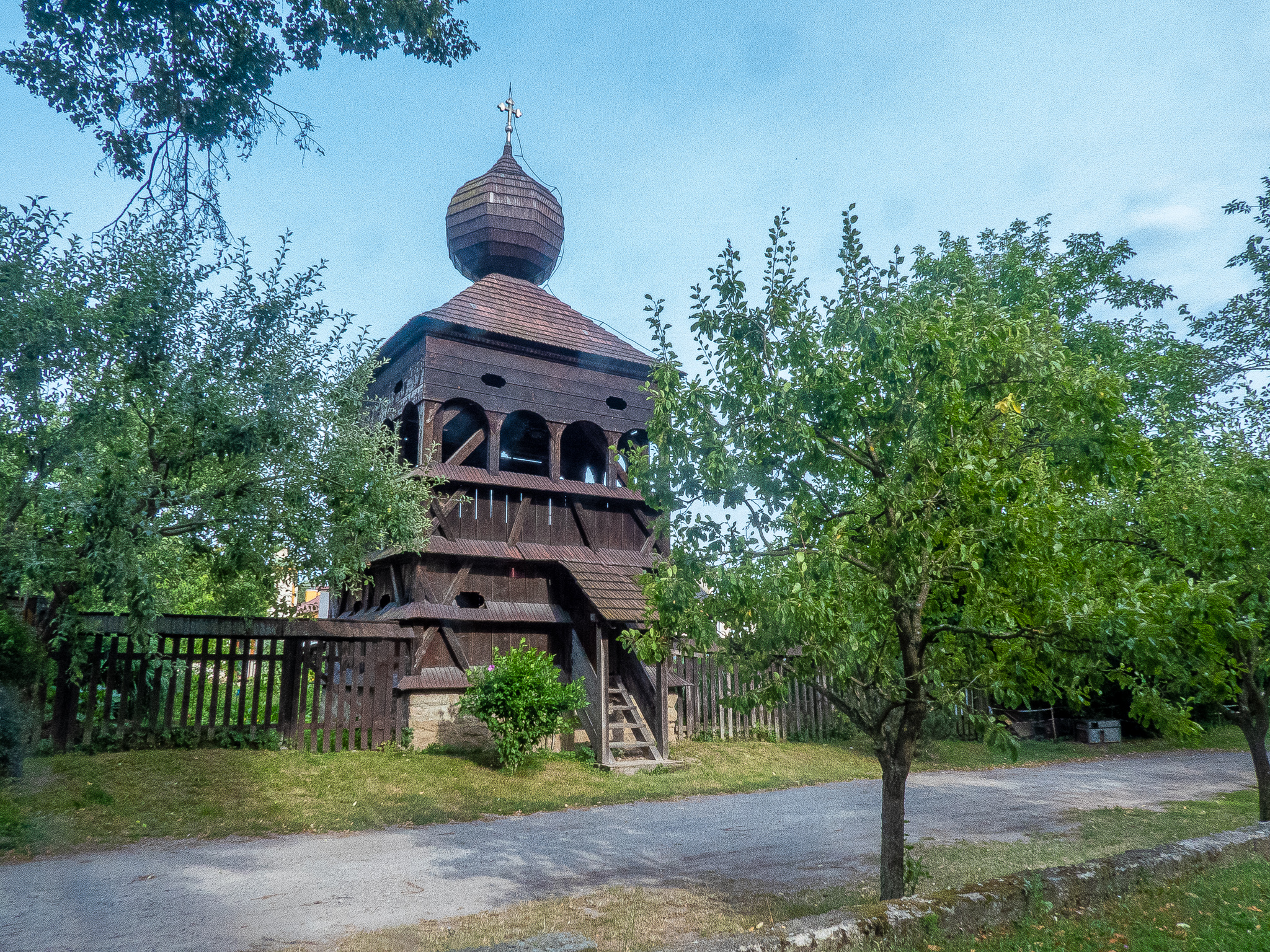 Hronsek Wooden Church Bell Tower