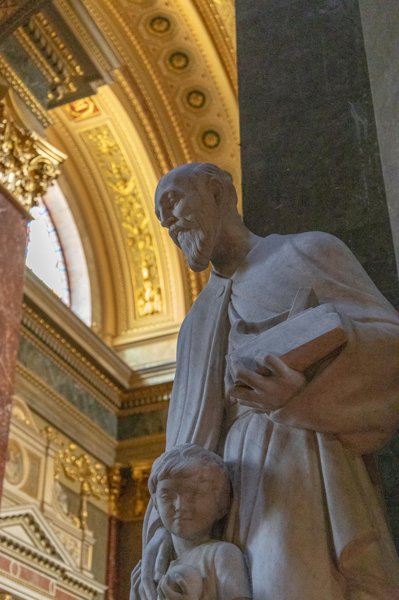 Interior statues