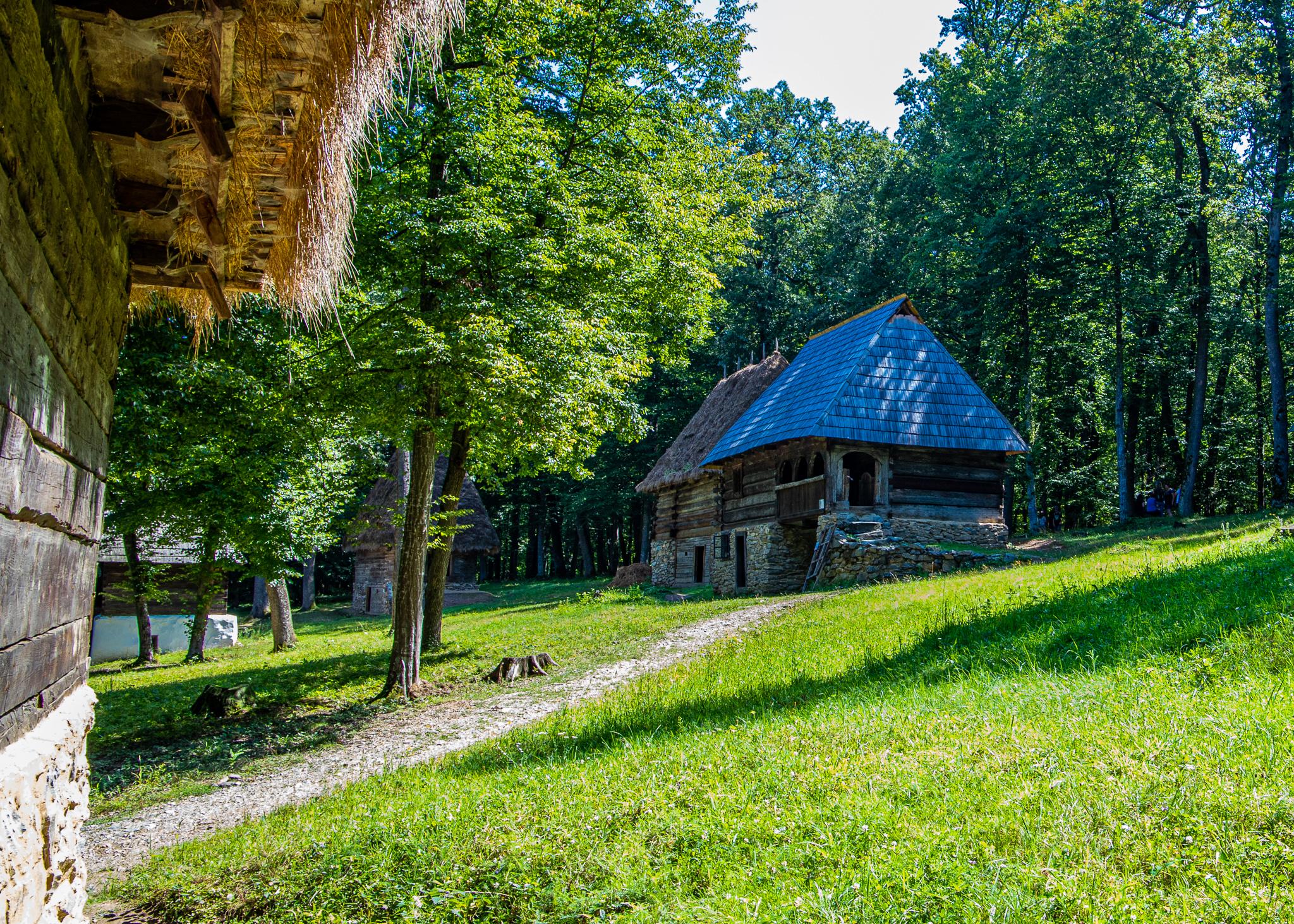 Old Transylvanian houses