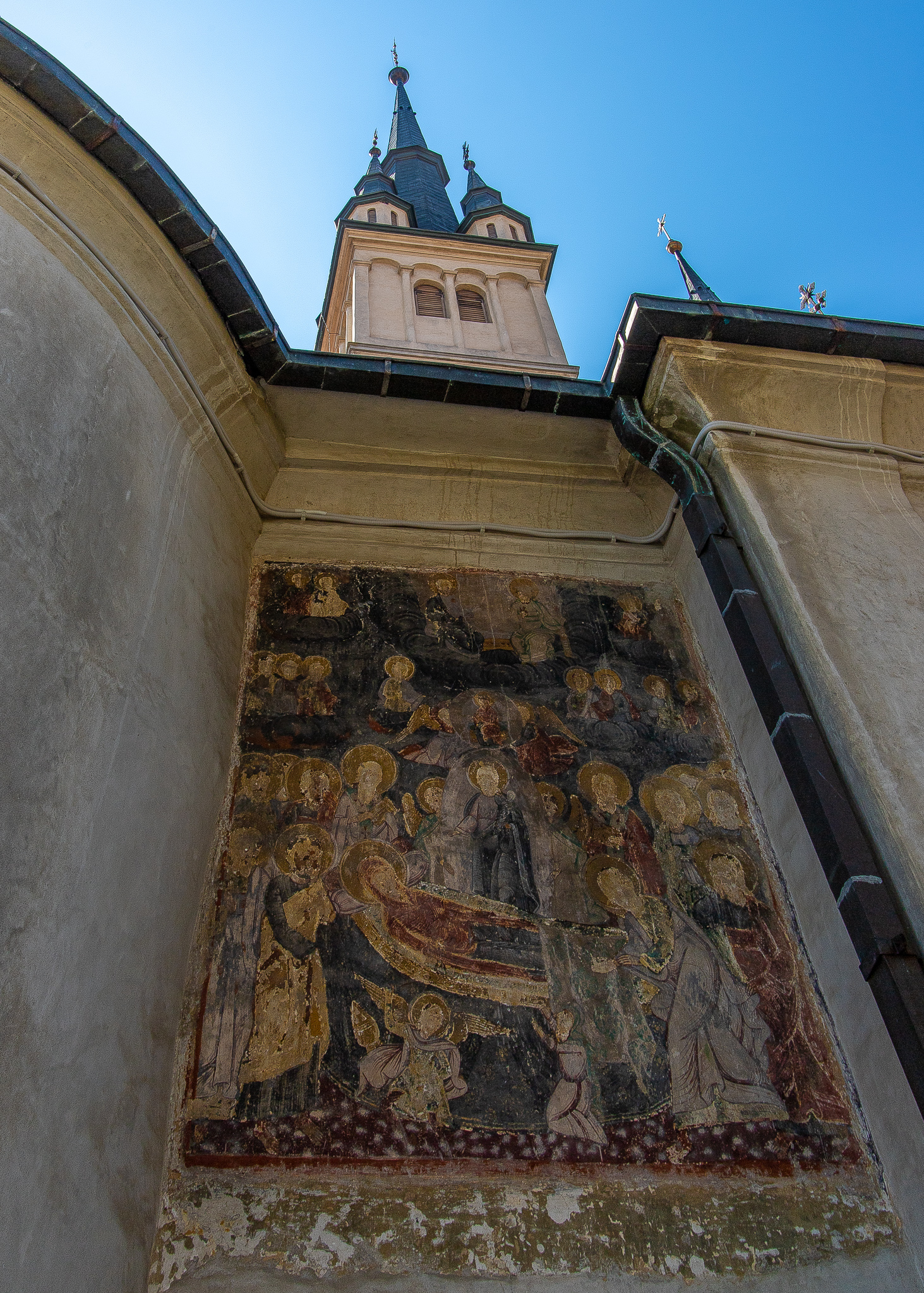 Exterior paintings at St Nicholas Church