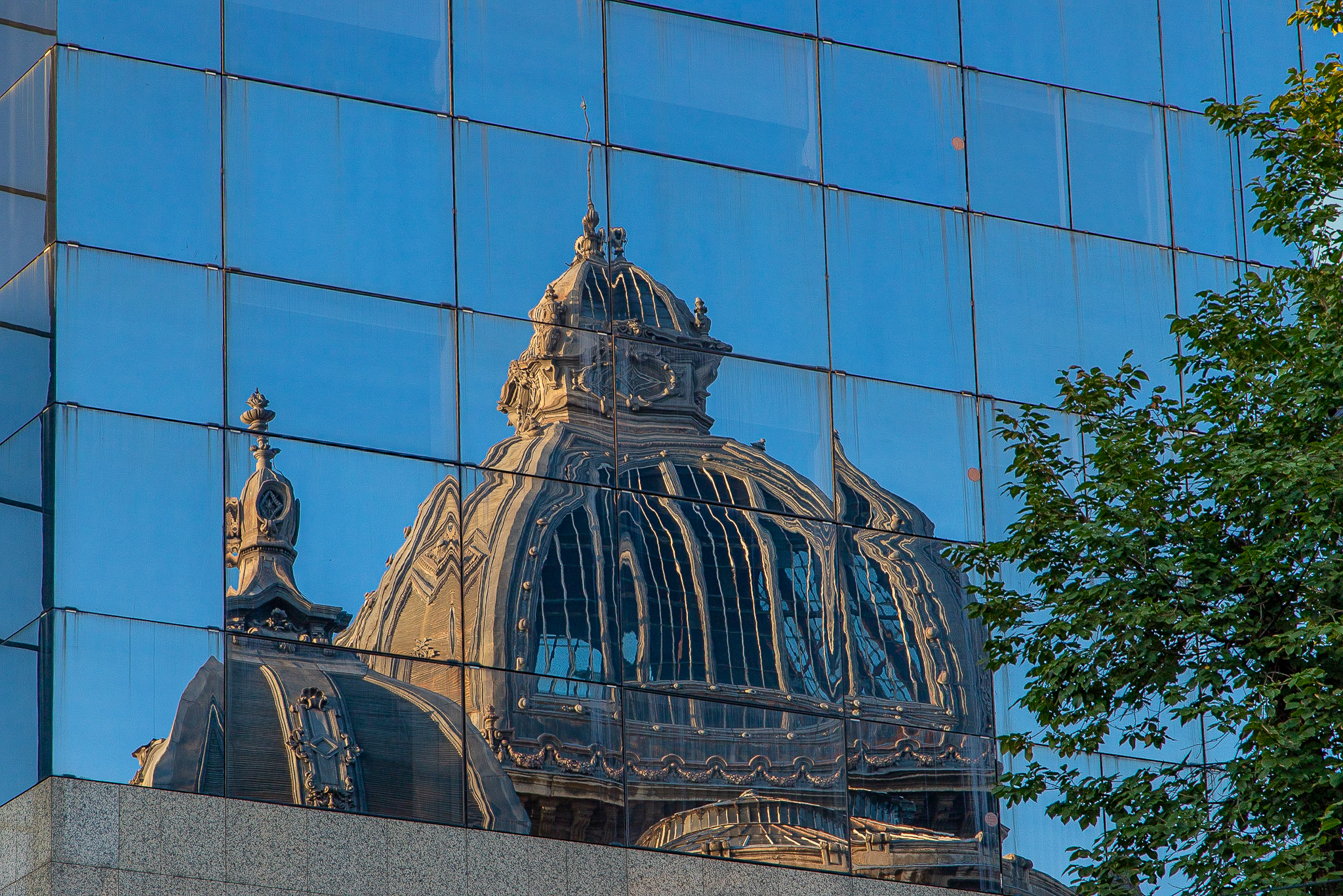 Reflections of the Palace of the Deposits and Consignments