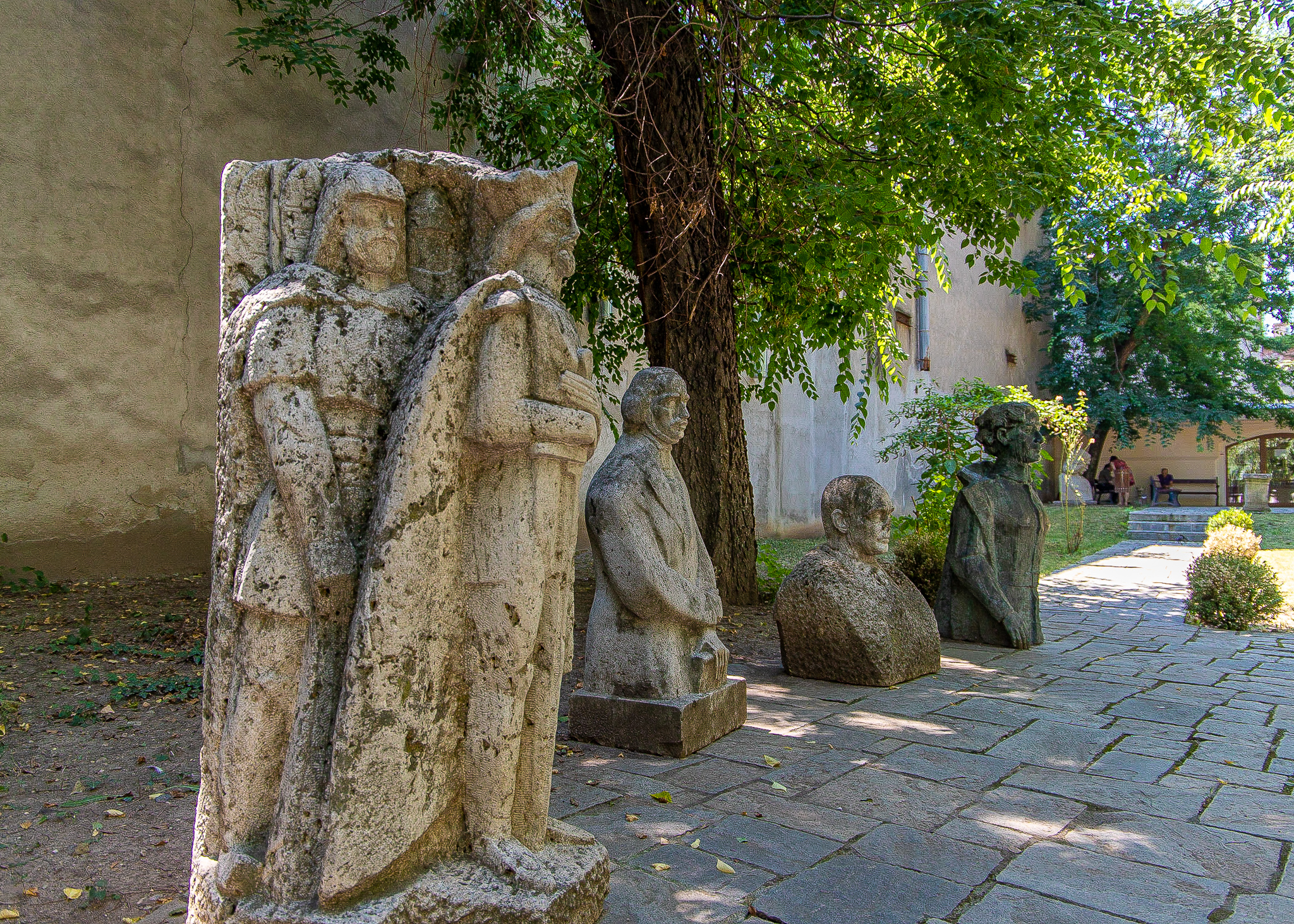 Historic figures from Romania's past