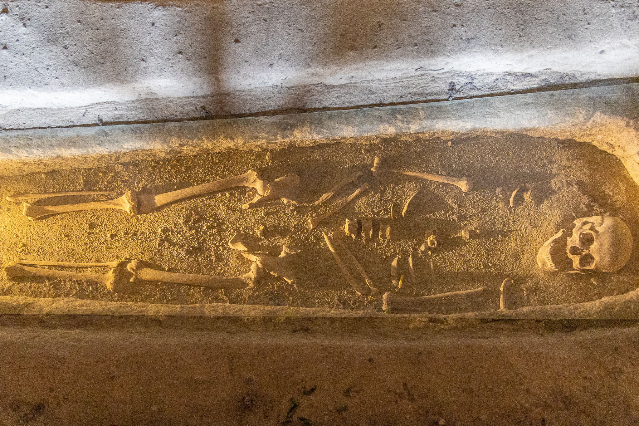 Grave inside Chapel of St Basil