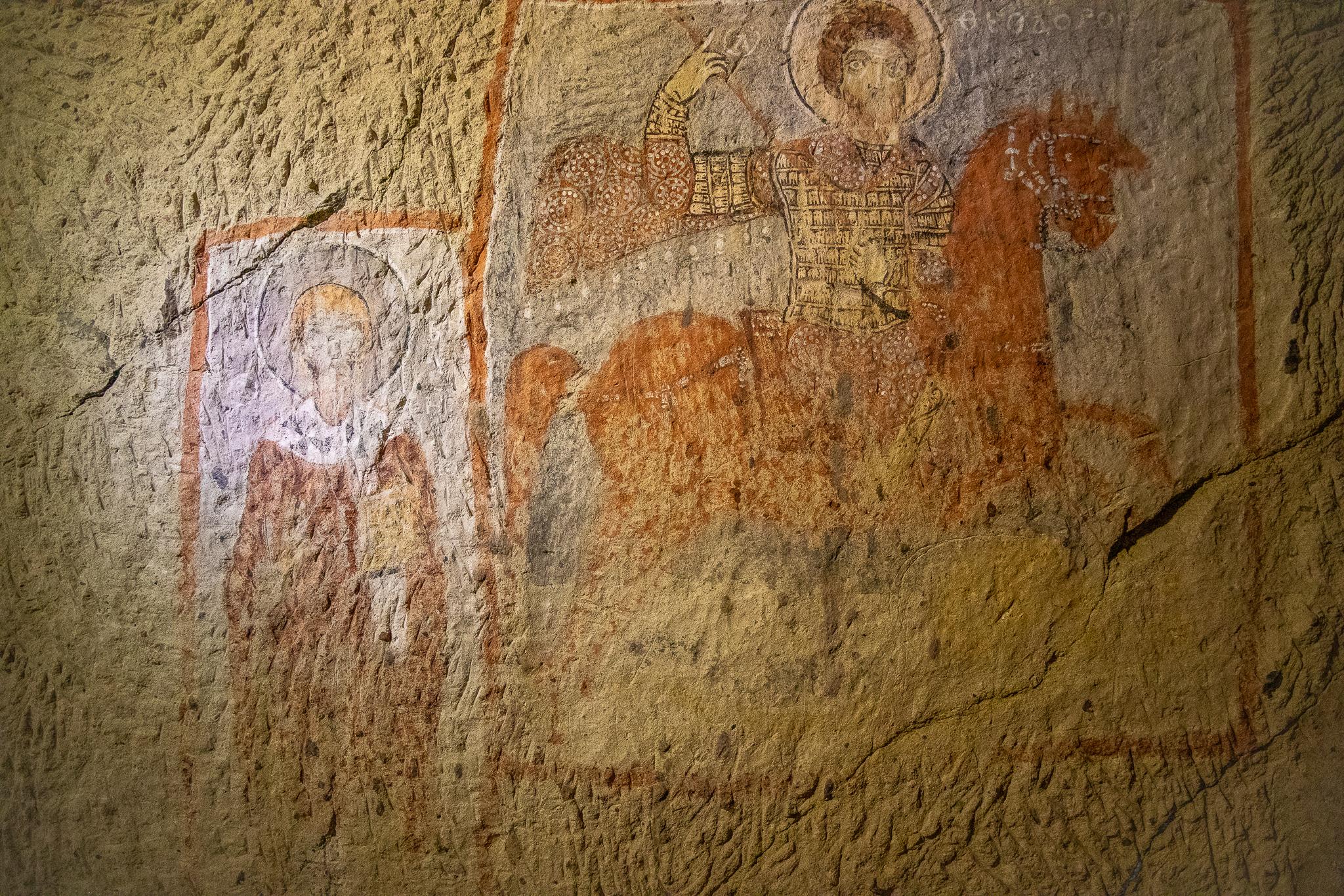 Frescoes inside St Basil Church