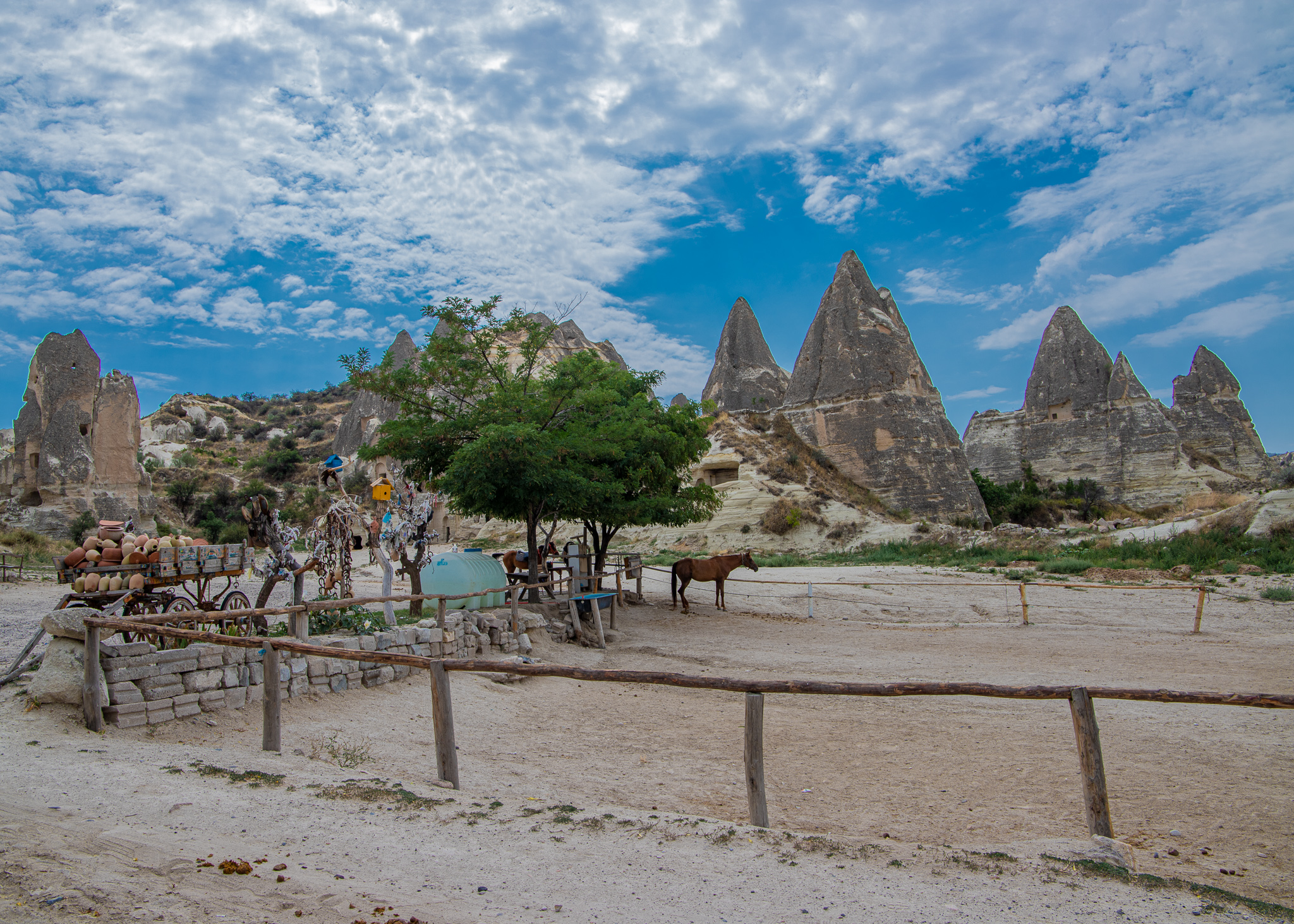 Heading towards the Goreme Open Air Museum