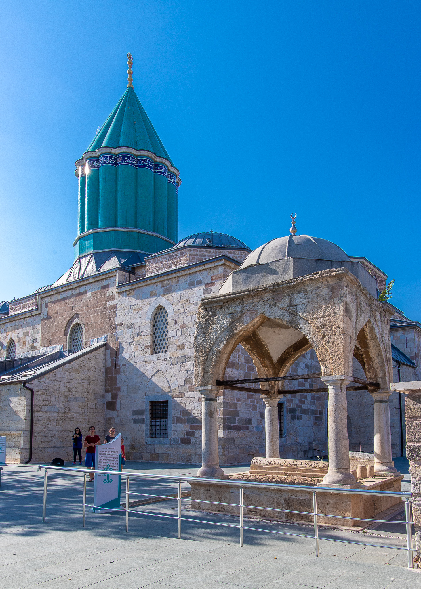 Tomb of Mehmed Bey in front of Dervish Lodge
