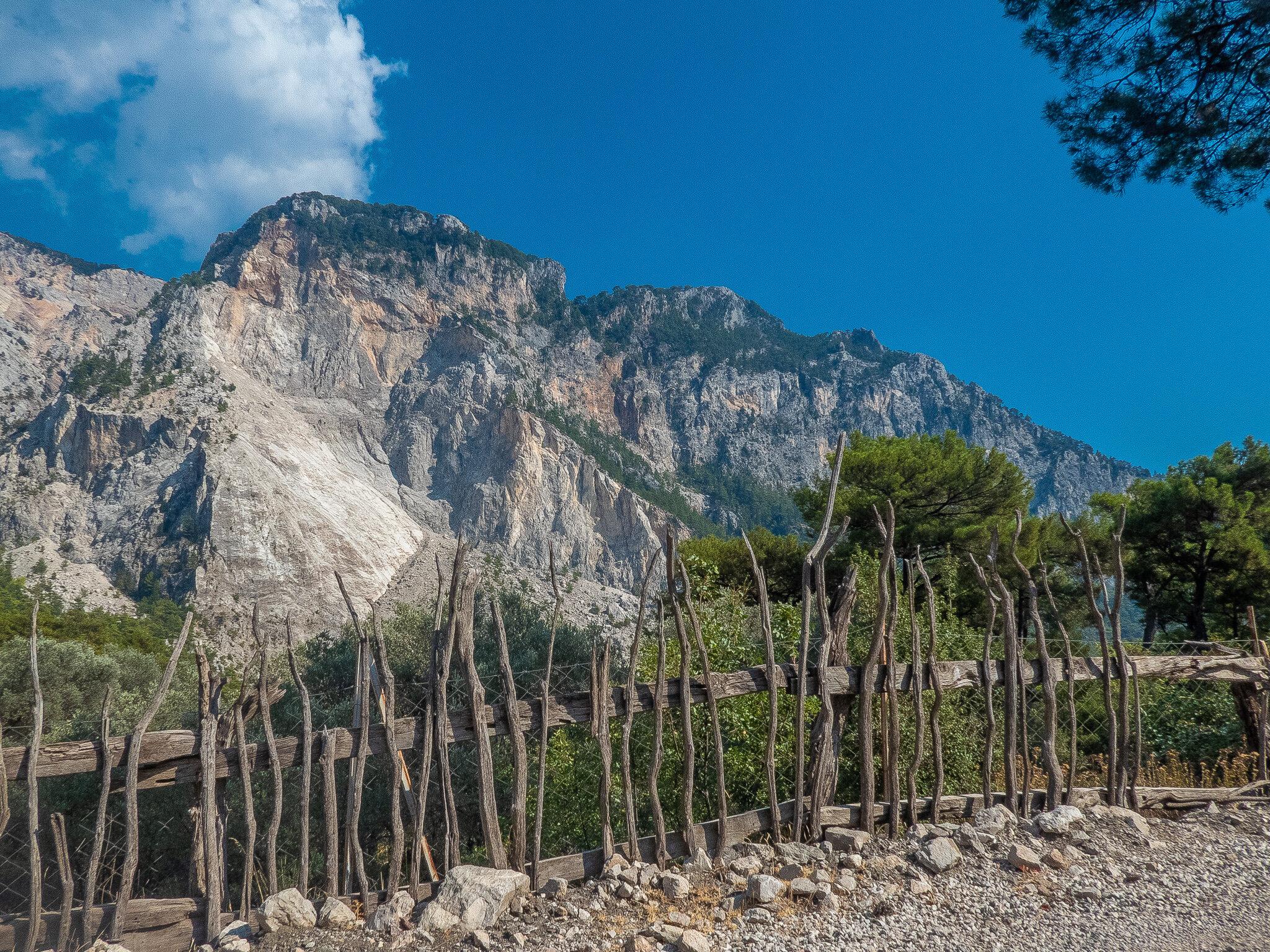 View towards Mount Babadağ