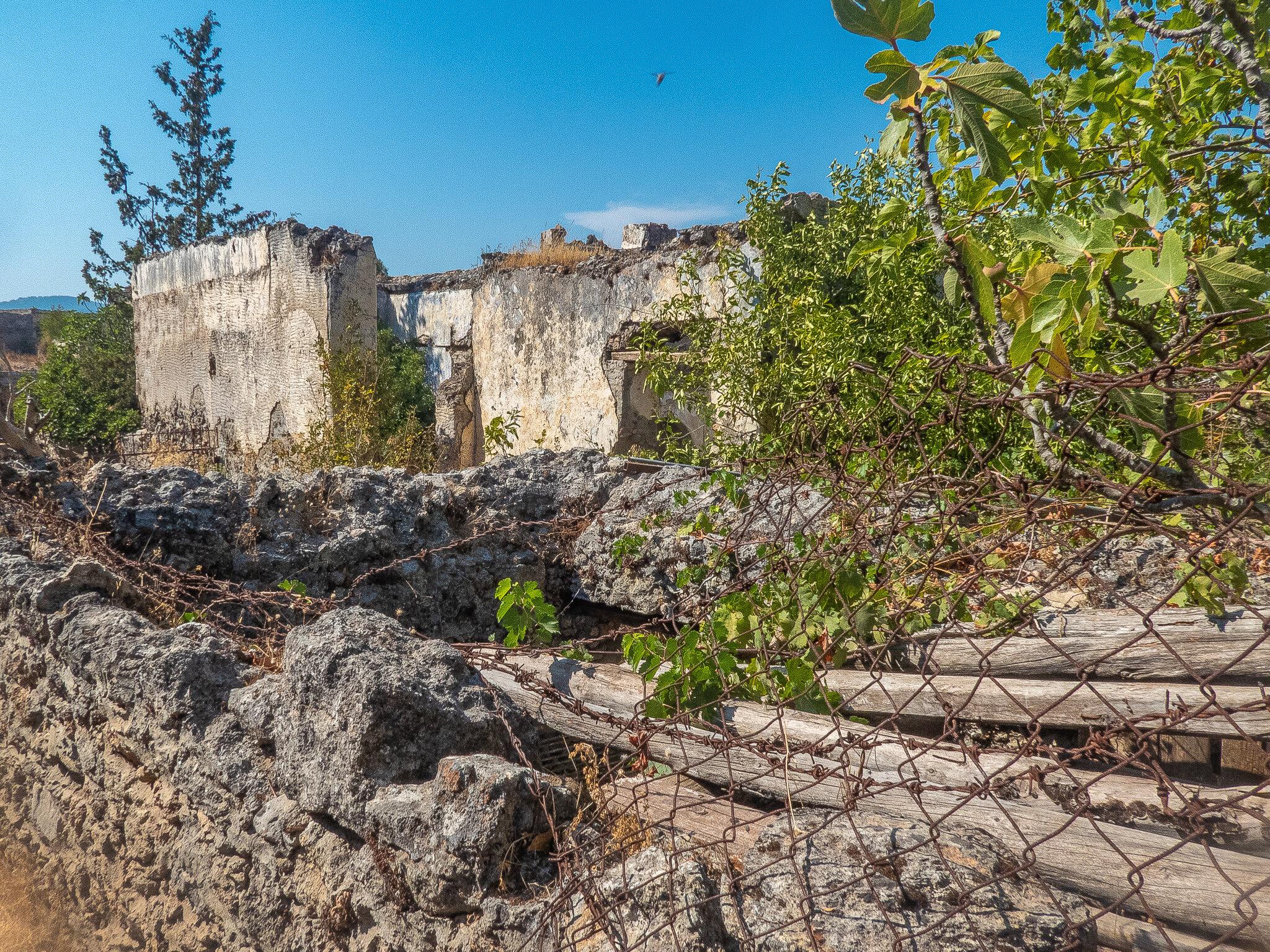 Housing ruins in Kaykoy