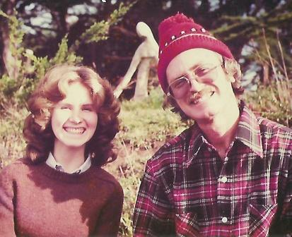 Me and my father, 1978 Mendocino, Ca, from family collection