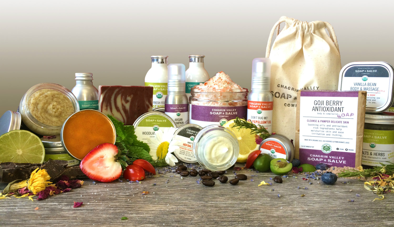 Chagrin Valley Soap and Salve Shampoo Bars and Other Personal Care Products, Image courtesy of Chagrin Valley Soap and Salve