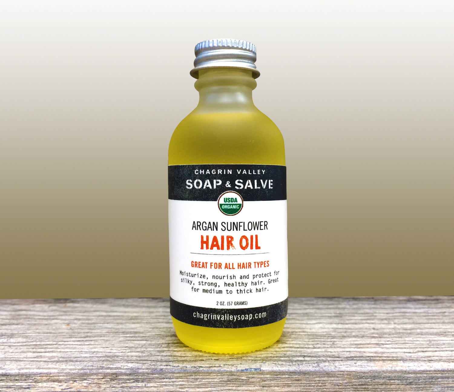 Hair Oil, image courtesy of Chagrin Valley Soap and Salve