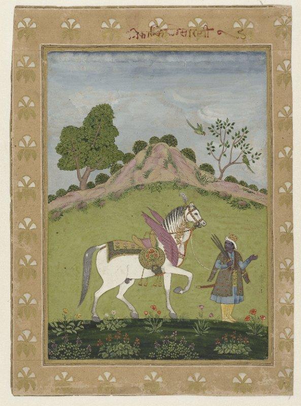352 Kalki met zijn witte paard RP-T-1996-52.jpg