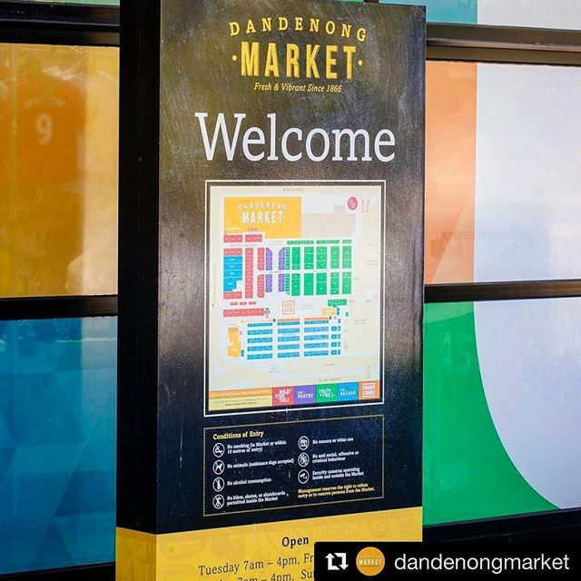 👉🏼👋🏼👈🏽 Welcome to Dandenong Market 🍅 Logo | Sign | Map | Window graphics done by us... make sure you check out the complete package on our website, link in bio... Be sure to drop us a line if there's something we can do for you ⚡️⚡️⚡️ #repost #dandenongmarket #market #fathomcreativestudio #graphicdesign #design #designstudio #designspiration #logo #logomark #logomaker #branding #brand #signage #environmentalgraphics #environmentaldesign #printdesign #print #vector #lovewhatyoudo #designer