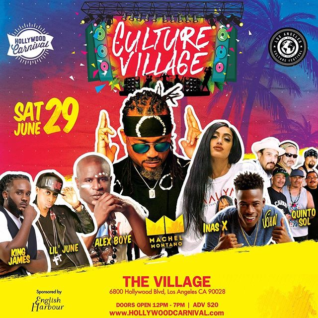 "An action pack ""Culture Village"" mega concert featuring some top international acts Caribbean, African, Latino, Surprise performances 😉and much much more! #CultureVillage #hollywoodcarnival2019 Get your tickets now!"