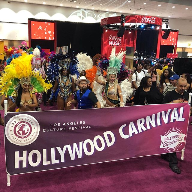 Hollywood Carnival was at THE BET EXPERIENCE @betexperience today giving them a little taste of what to expect on Saturday June 29th!!!! Come and enjoy the parade on Hollywood Boulevard leading to the Carnival Village for traditional food and entertainment. #hollywoodcarnival #hollywood #culture #dancers
