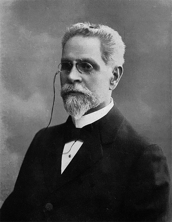 Frans Brundin, föreningens stiftare.