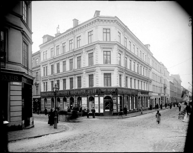 Frans Brundins Bosättnings- & Manufaktur-affär