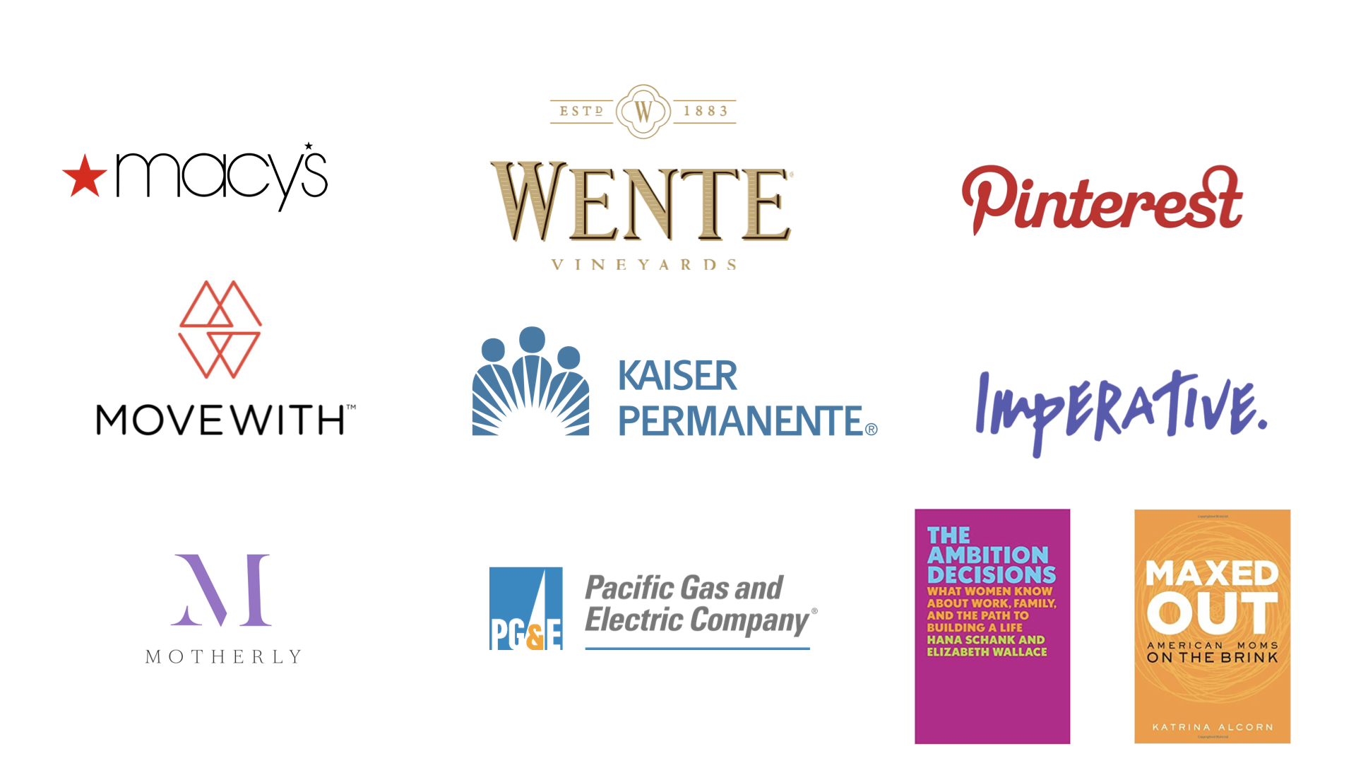 - Companies and Publications at MomWarrior 2018