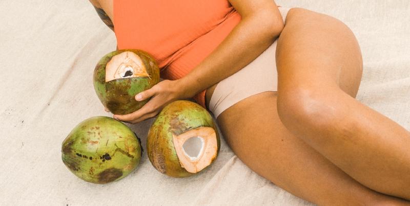 Virginutty Coconut Oil as Moisturiser - Coconuts and Legs.jpg