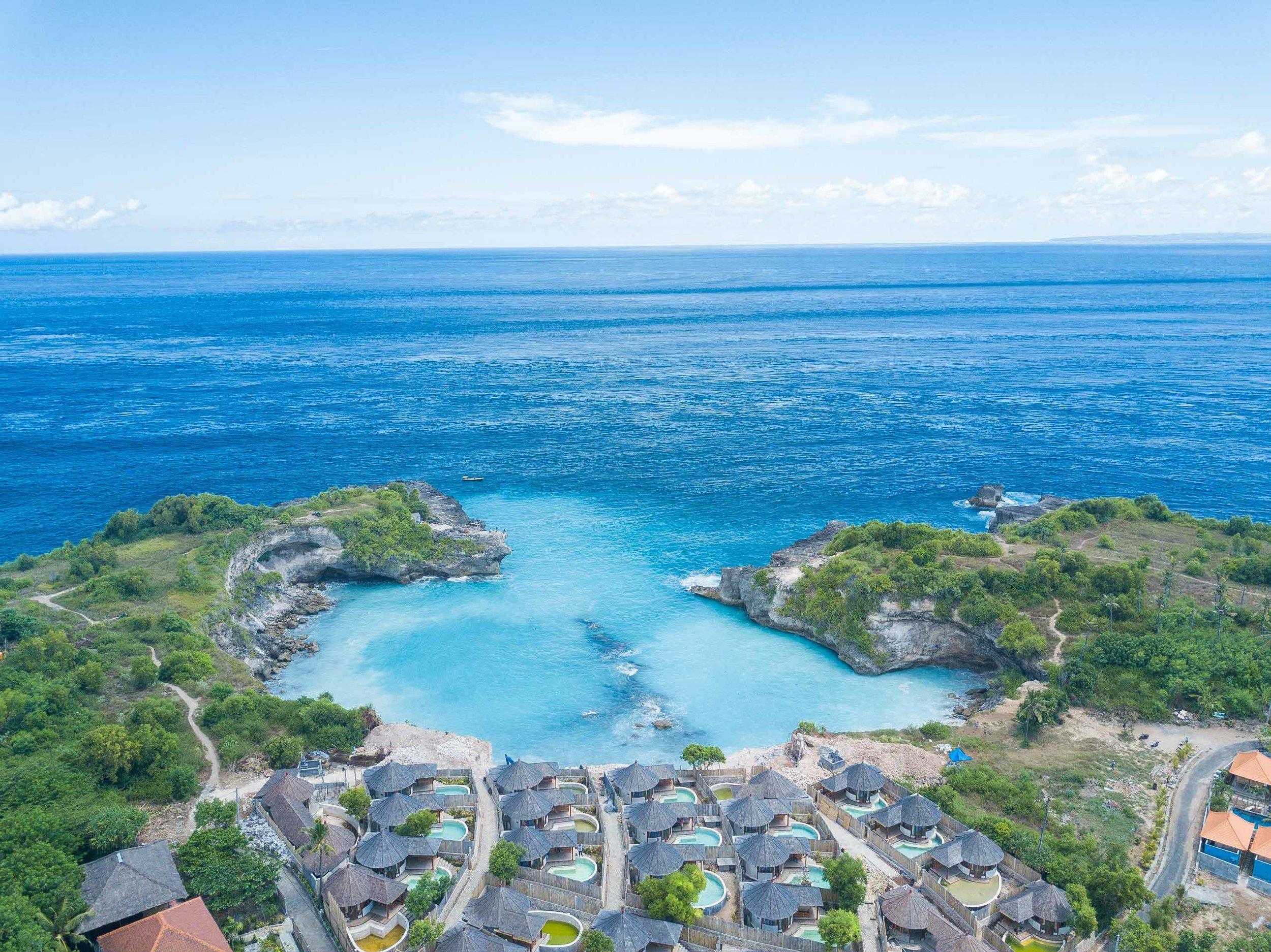 Avia villa blue lagoon nusa ceningan management resort