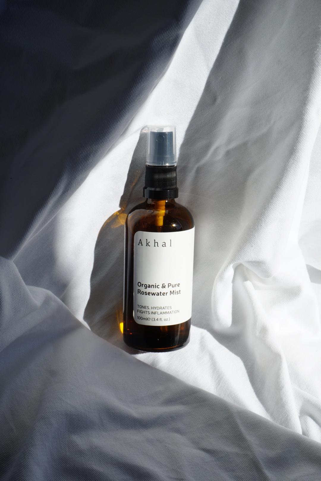Akhal - Organic Rosewater Mist