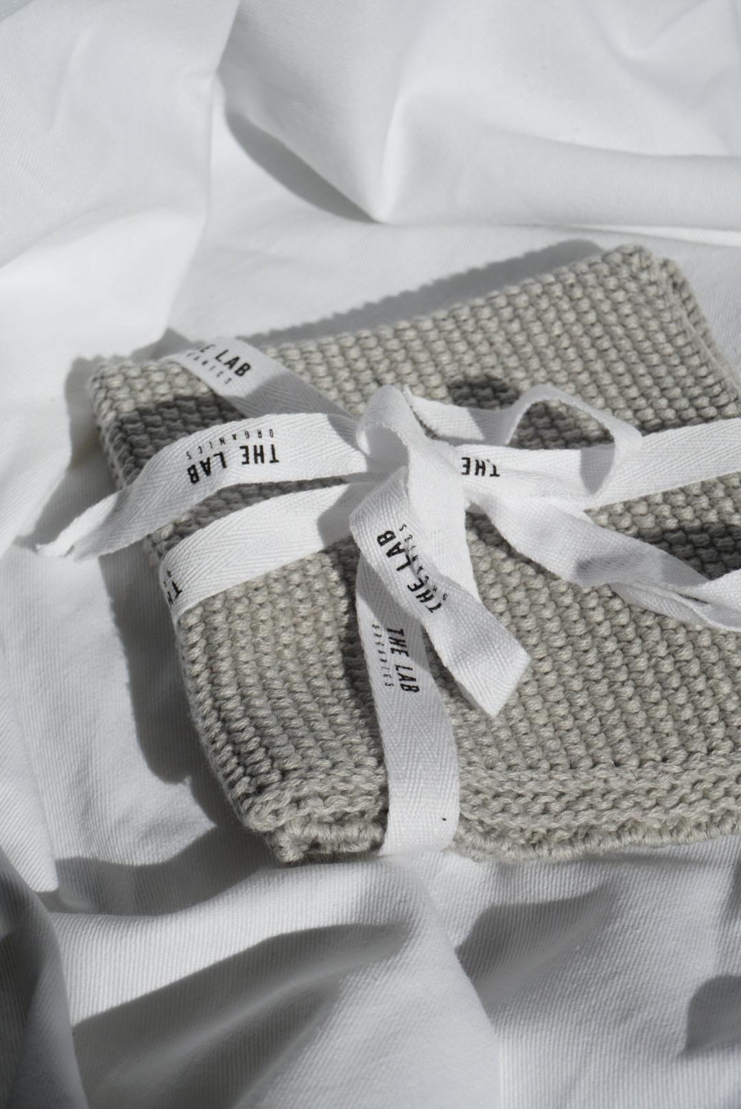 The Lab Organics - 100% Cotton Face Cloth