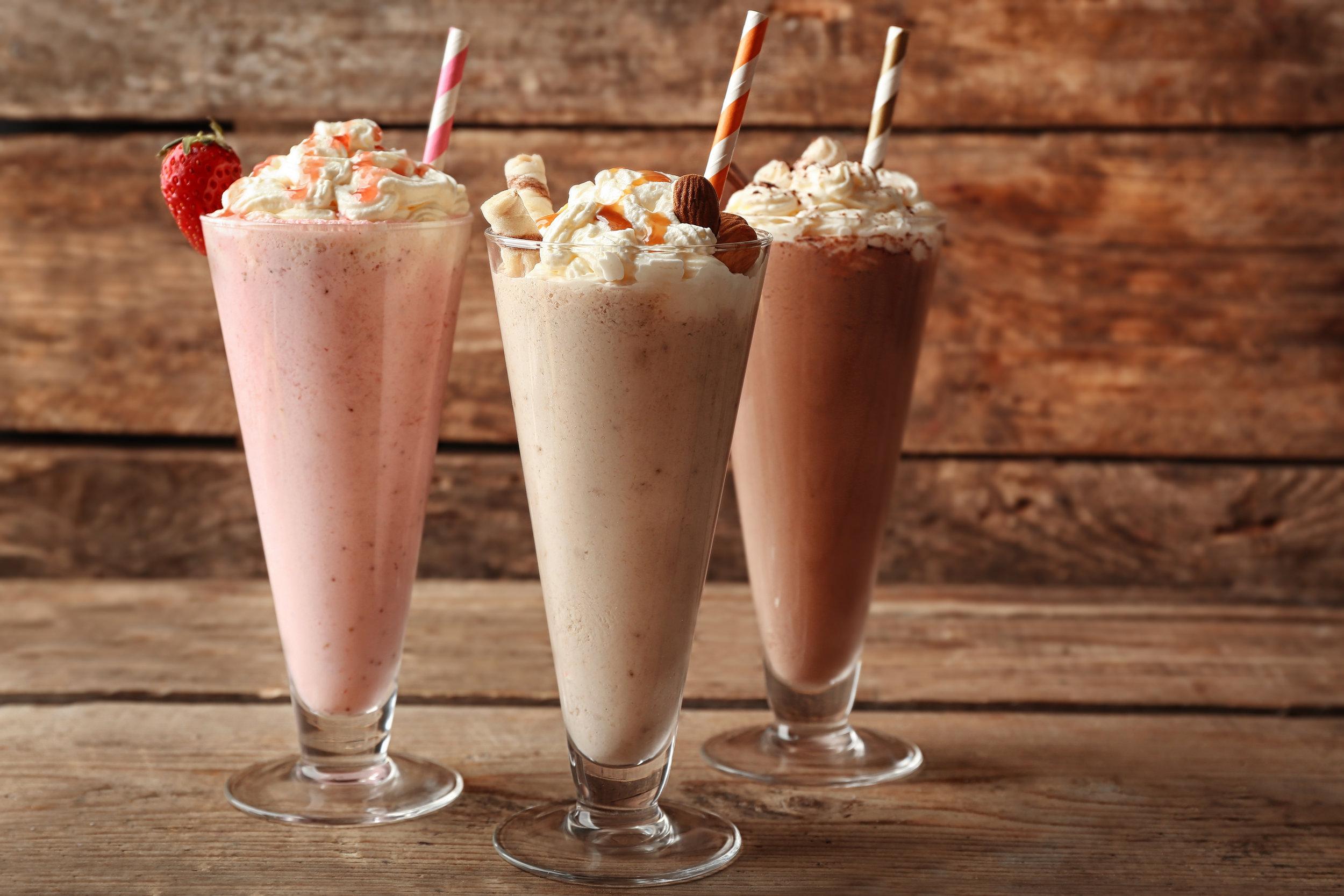 Feeling Thirsty - Enjoy our delicious milkshake