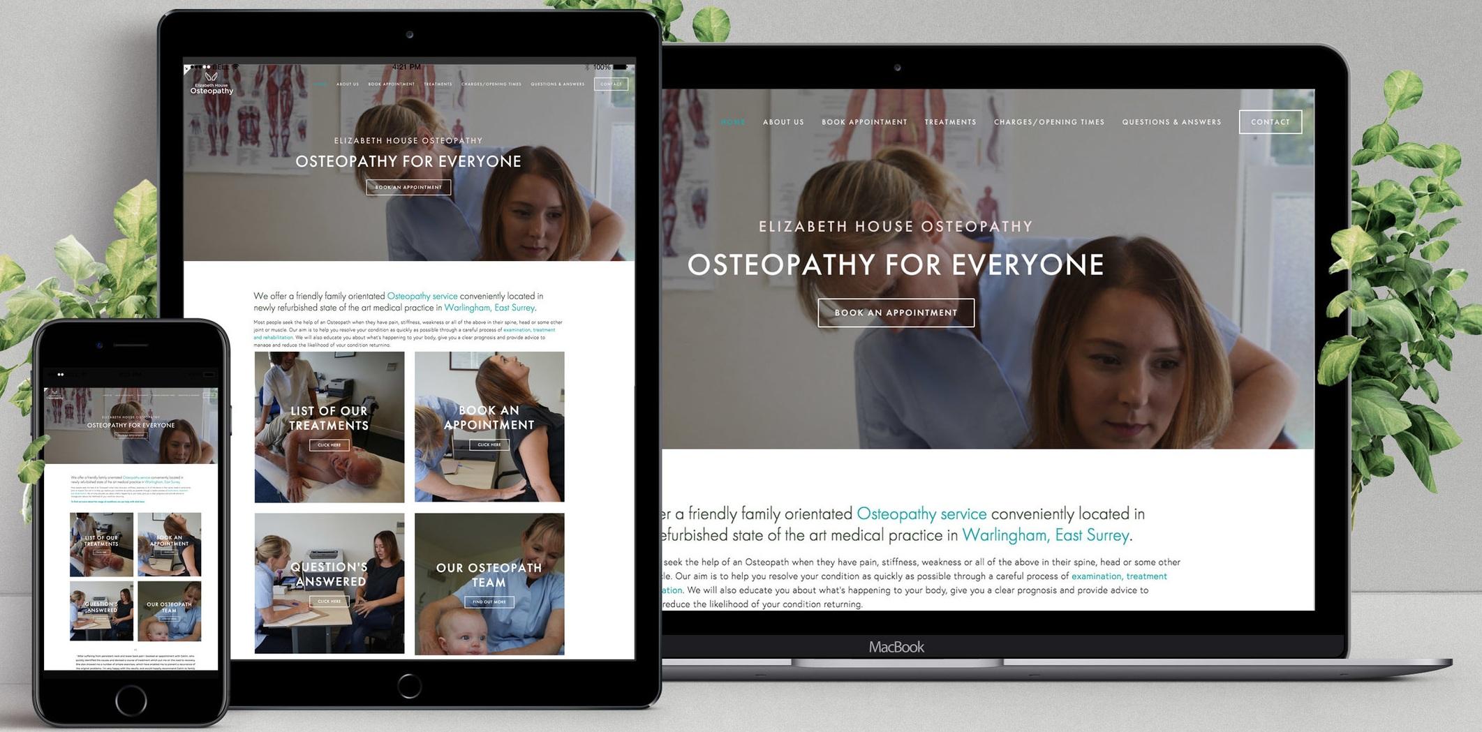 Elizabeth House Osteopathy