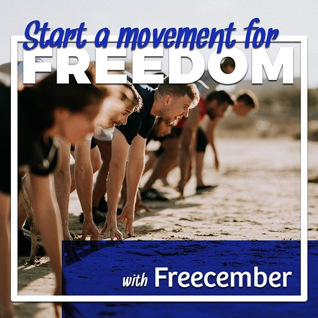 Ready? . Join other Freedom Raisers making a BIG difference to a smaller charity transforming the lives of victims and survivors of human trafficking. . Give . Raise . Lead . Fund the Frontlines of Freedom 🦋 . Help 🛑 #humantrafficking / #modernslavery . Find out more at freecember.org or link in bio. . #hny #hny2019 #humantraffickingawareness #sextrafficking #childsextrafficking #dmst #labortrafficking #labourtrafficking #humantraffickingawareness #nuevosabolitionistas #esclavitudmoderna #sklaverei #free #5k #run #running #lifting #flossing #reading #drawing #poetry #freizember  #libreciembre #libresiempre  #freecember #freeforever