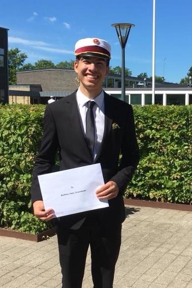 Mathias Drachmann  STX fra Aalborghus Gymnasium