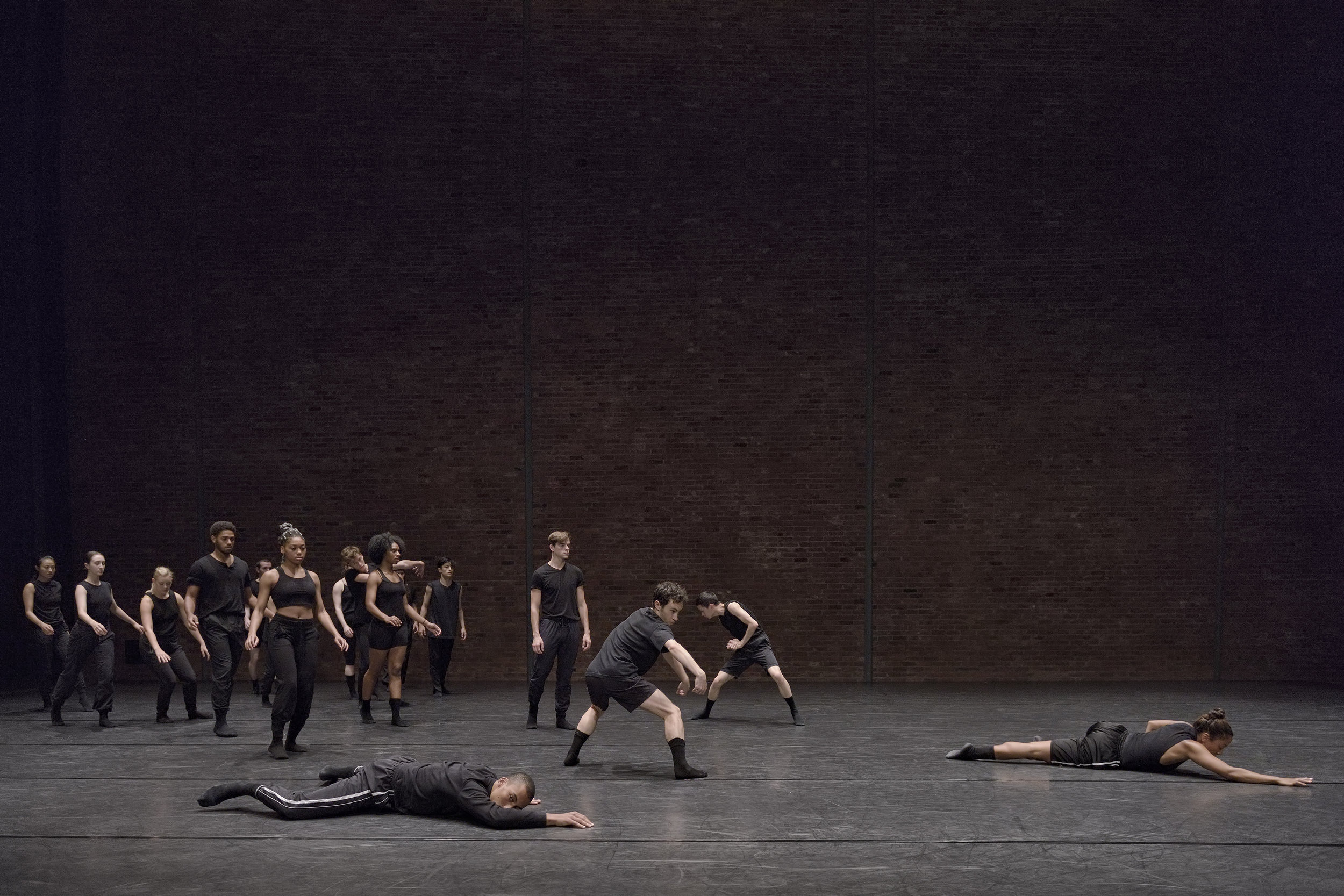 Photography by Michael Slobodian / 'big kid' presented at Usine C for Springboard Danse Montreal 2018, Emerging Choreographer