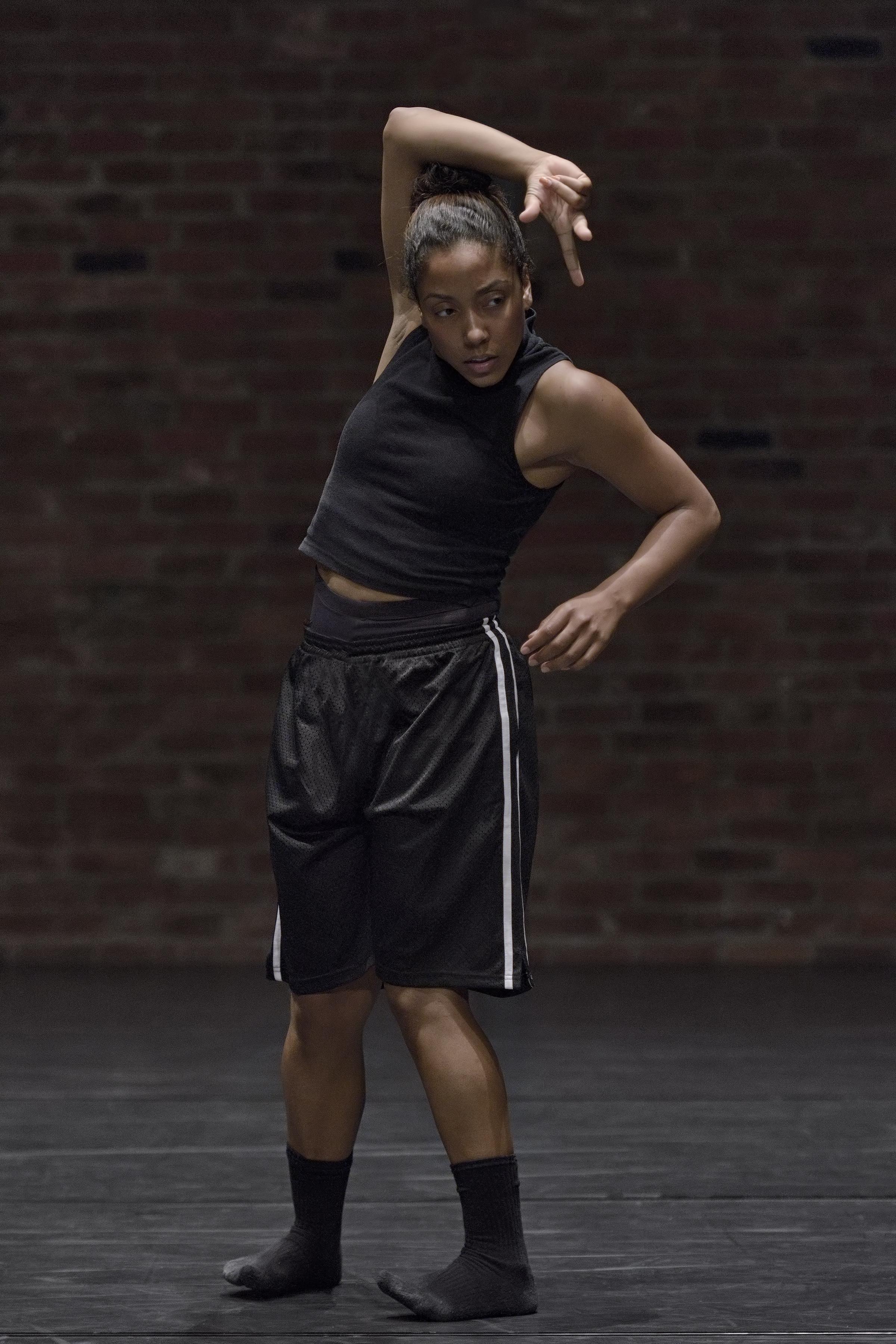 Photography by Michael Slobodian of dancer Livona Ellis for 'big kid'