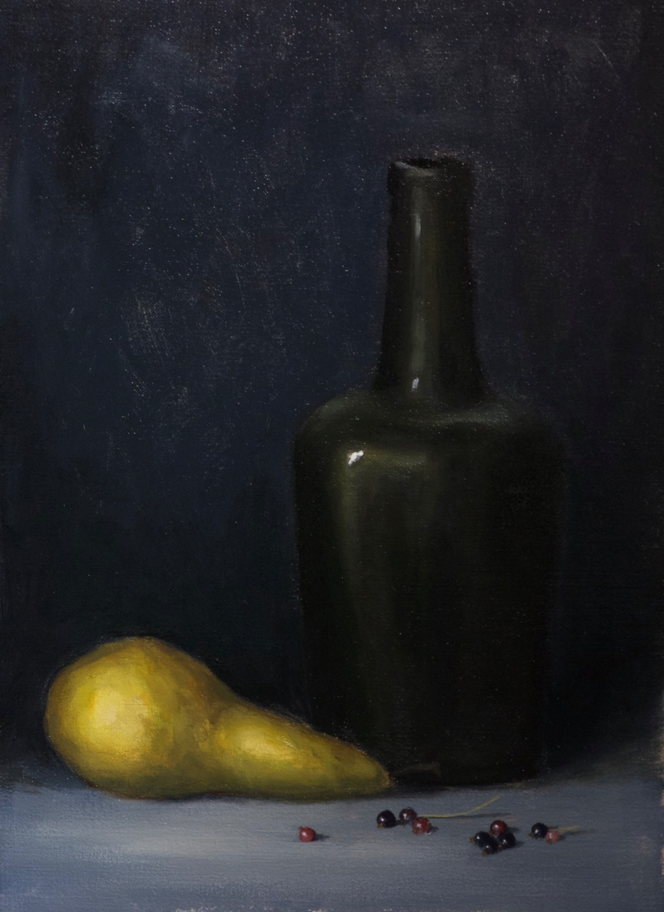 Pear and Bottle