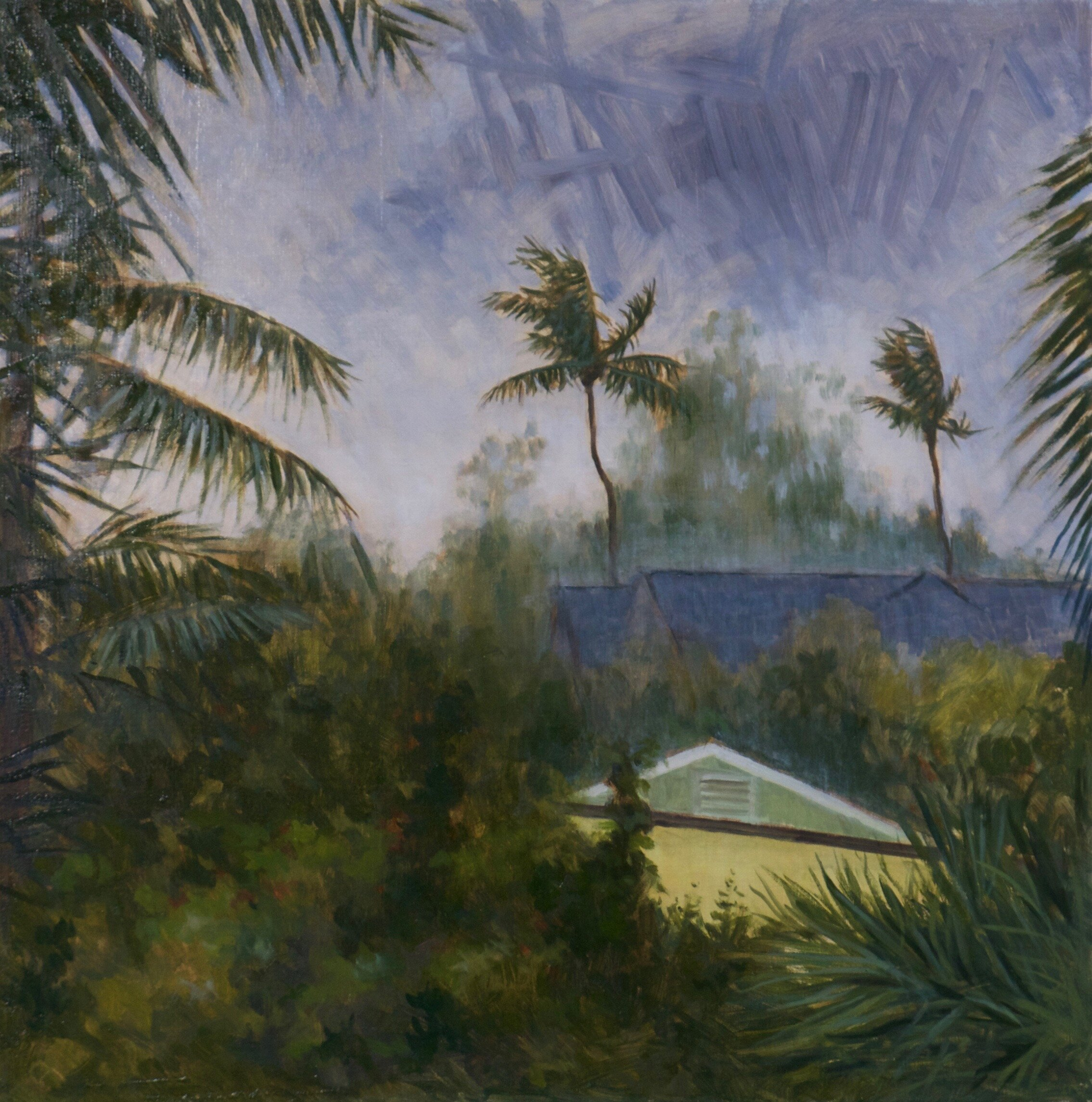 Copy of Copy of Tropical Storm, Harbour Island 45cm x 45cm