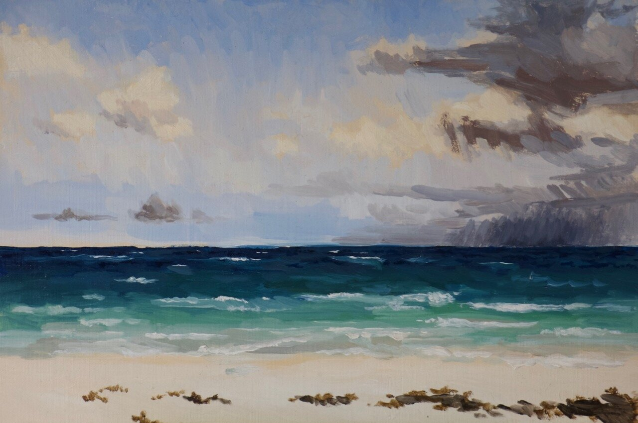 Copy of Copy of Clouds from Eleuthera 20cm x 30cm