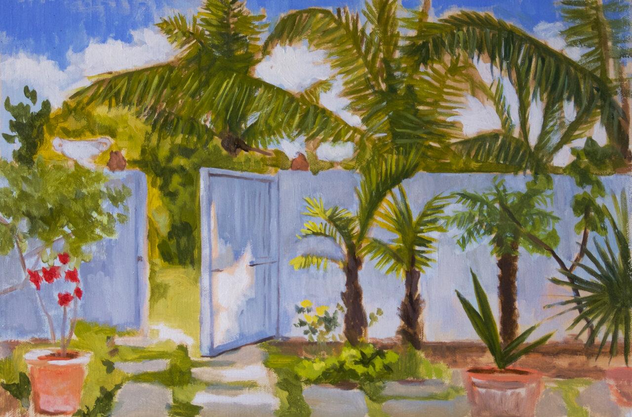 Pip's Garden 20cm x 30cm.jpg