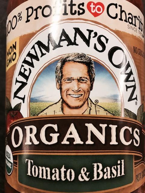 Newman's Own Organic Sauces