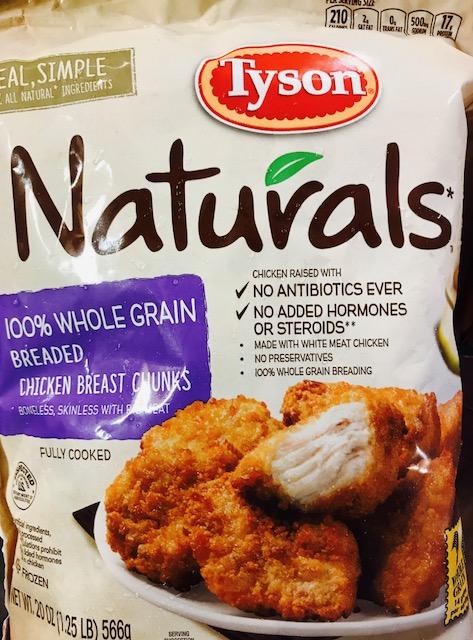 Tyson Natural Chicken Chunks