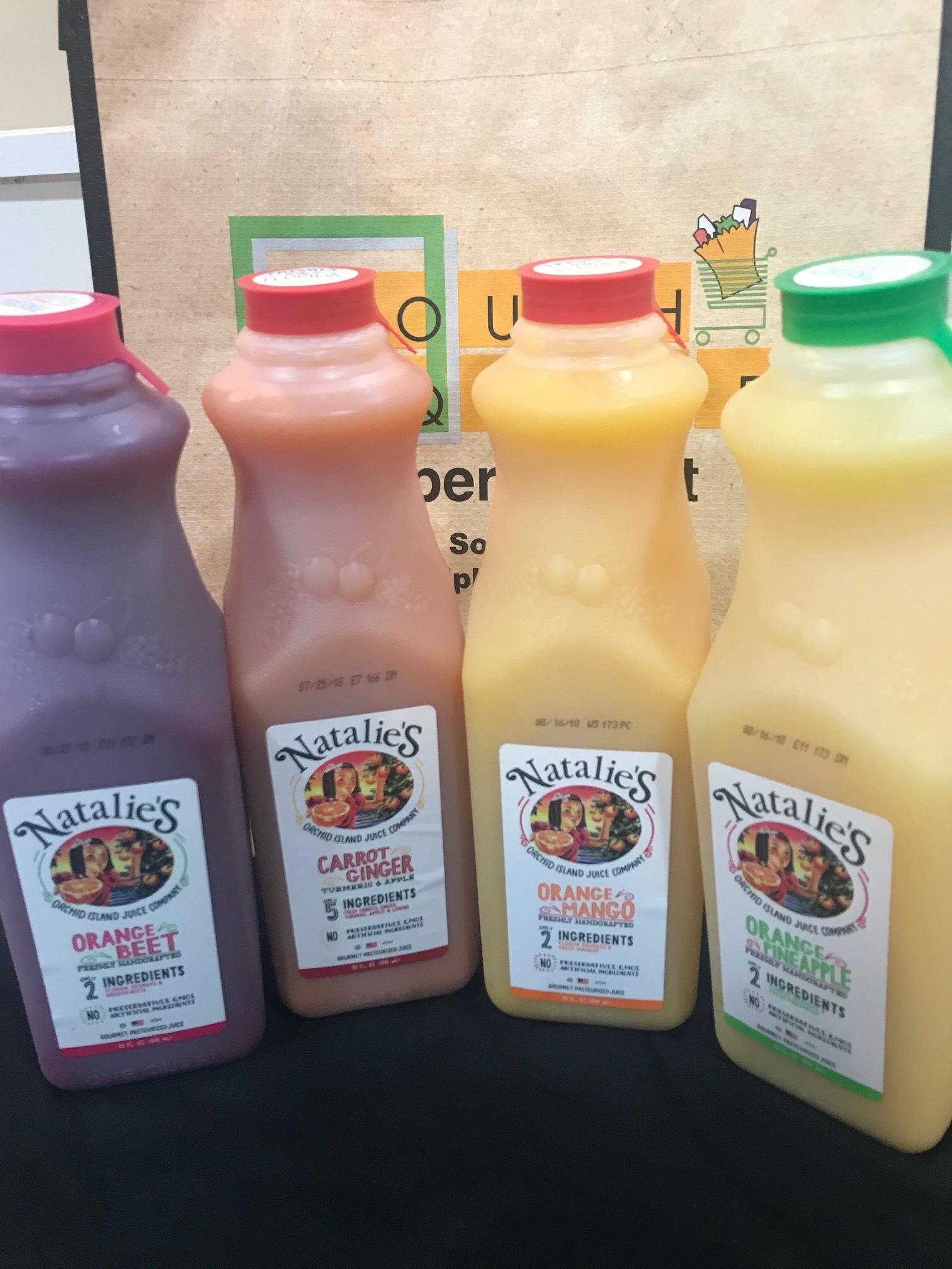 Natalie's Natural Juice Blends