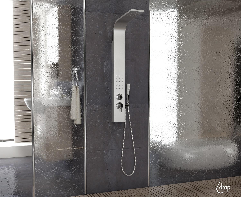 Drop Shower Coloumn