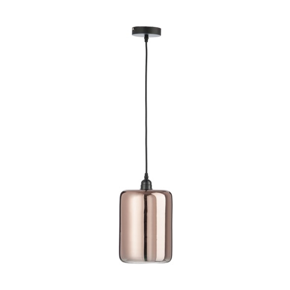 Lamp Cylinder Glass Copper